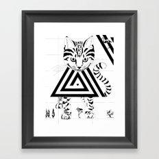 Alice in Wonderland Series - We're All Mad Here Framed Art Print