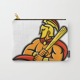 Trojan Warrior Baseball Player Mascot Carry-All Pouch