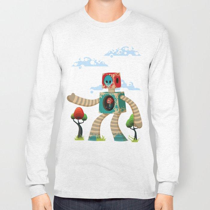 Woody Mecha Long Sleeve T-shirt