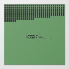 Loading Please Wait... Canvas Print