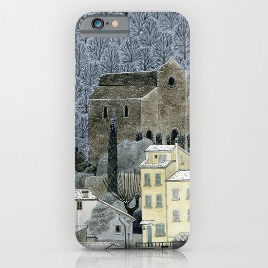 Winter Town iPhone & iPod Case