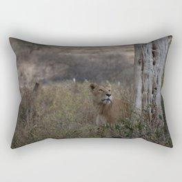 Proud Lioness Rectangular Pillow