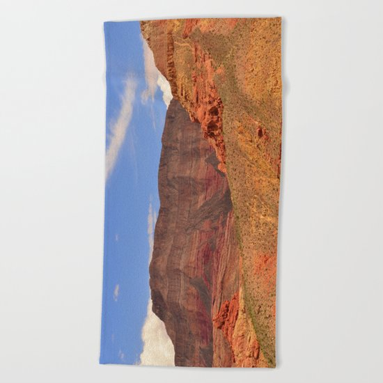 Virgin River Canyon Beach Towel