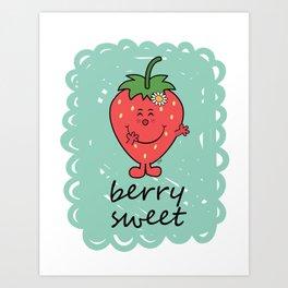 Berry Sweet Art Print