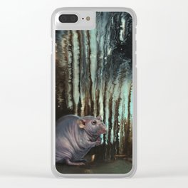 The Mad Scientist Clear iPhone Case