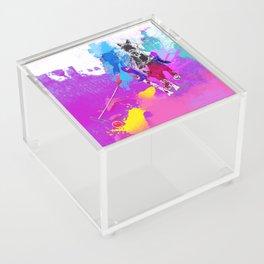 polo abstract Acrylic Box