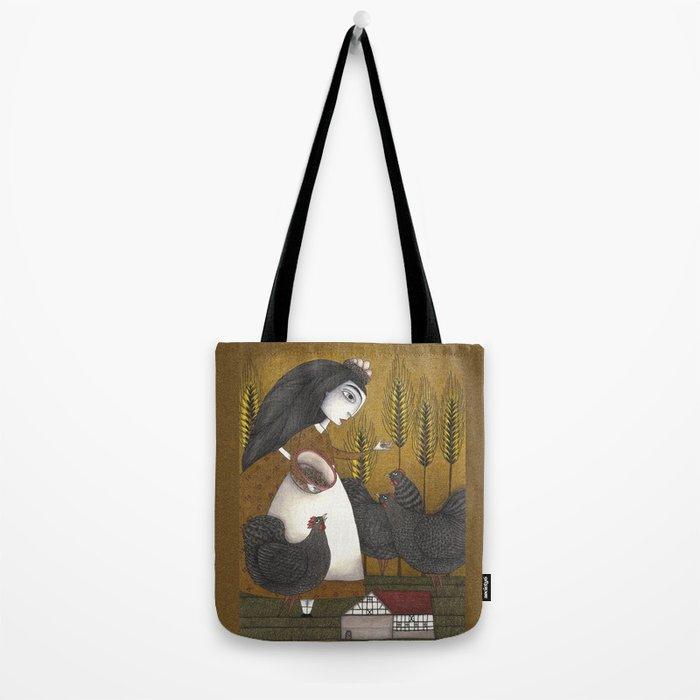 Ira's Hens Tote Bag