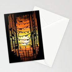 the wires Stationery Cards