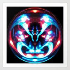 Sphere I (Staring) Art Print