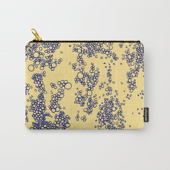 OCEAN YELLOW&BLUE Carry-All Pouch