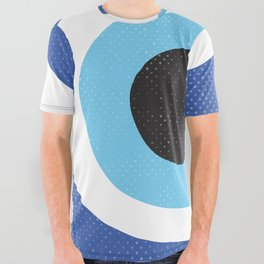 Evi Eye Symbol All Over Graphic Tee