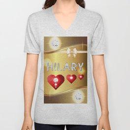 Hilary 01 Unisex V-Neck