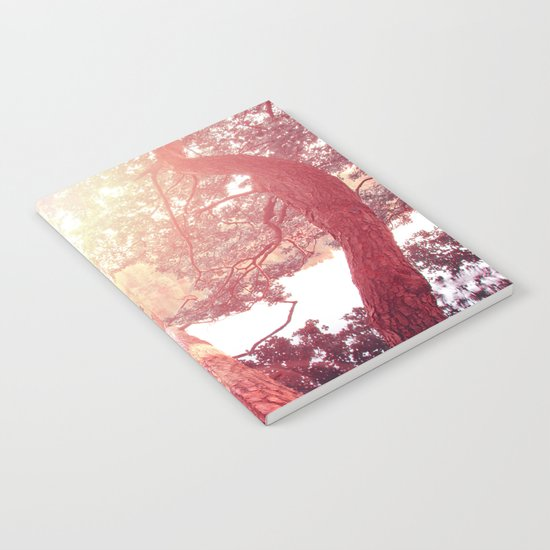 Red woods #trees Notebook