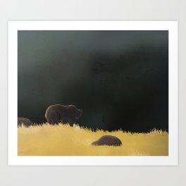 Plaine Art Print
