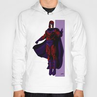 magneto Hoodies featuring Magneto by Andrew Formosa
