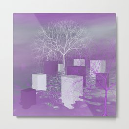 winterlight Metal Print