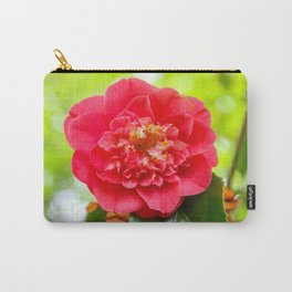 The Lost Gardens of Heligan - Red Camellia Carry-All Pouch