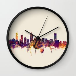 Montreal Canada Skyline Wall Clock
