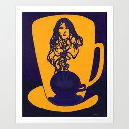 Black Coffee III Art Print