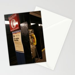 New York Phonebooth 4 Stationery Cards