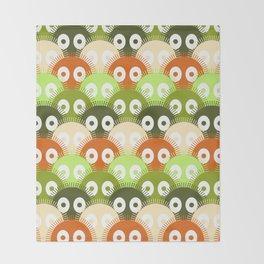 susuwatari pattern (color version) Throw Blanket