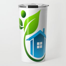Eco Friendly House Travel Mug