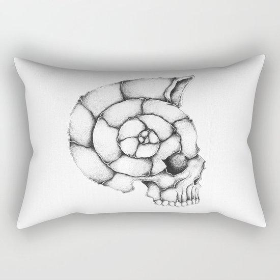 sea skull Rectangular Pillow