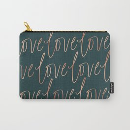 Emerald Love Carry-All Pouch