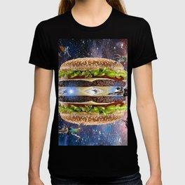 Hamburguesa luna estelar T-shirt