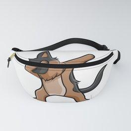 Fun German Shepard Prints Dab Dance Tee Dabbing Dog Design Fanny Pack
