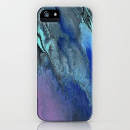 Galaxy Burst - Fluid Acrylic Painting PRINT iPhone Case