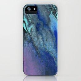 Galaxy Burst - Fluid Acrylic Painting PRINT iPhone Case