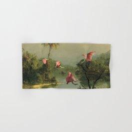 Spoonbills in the Mist Hand & Bath Towel