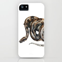 Lurking snake iPhone Case