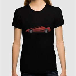 Exotic Modern Super Car Concept T-shirt