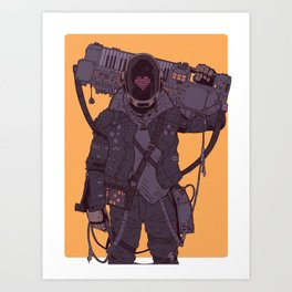 Daftermath 001 Art Print