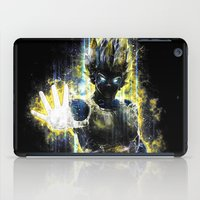vegeta iPad Cases featuring The Prince of all fighters by Barrett Biggers