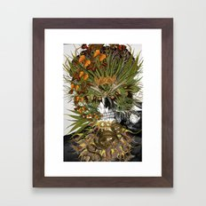 Toxicity 1 - Collage art by bedelgeuse Framed Art Print