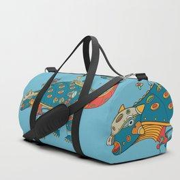 Dinosaur, cool wall art for kids and adults alike Duffle Bag