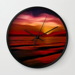 Graceful (Digital Art) Wall Clock