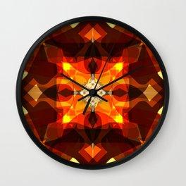 Heroic Deeds Wall Clock