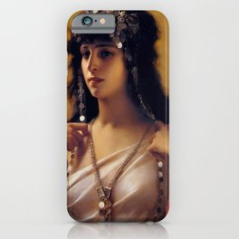 "Luis Ricardo Falero ""An Oriental Beauty"" iPhone Case"