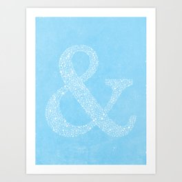 Ampersand of Ampersands Art Print