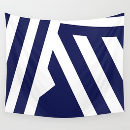 Nautical Stripes Wall Tapestry