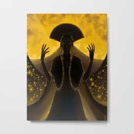 Priestess Metal Print
