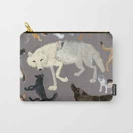 Wolves of the world 1 Carry-All Pouch