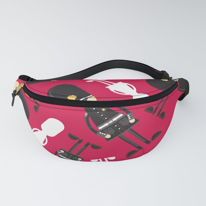 Cute Cartoon Policeman Pattern Fanny Pack