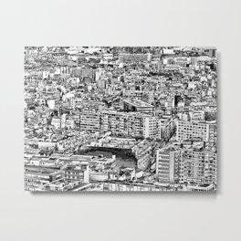 Paris - Blick vom Eiffelturm Metal Print