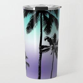 Alexandrite tropical palms Travel Mug