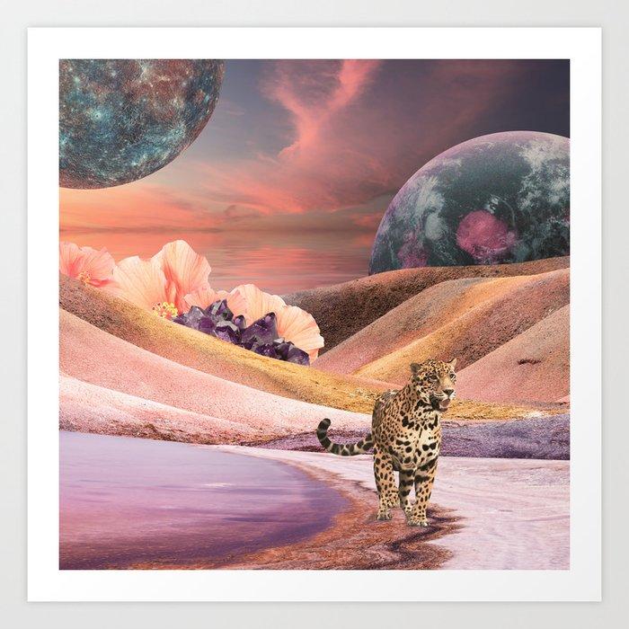 Jaguar Moons with Rosie Sayers Art Print